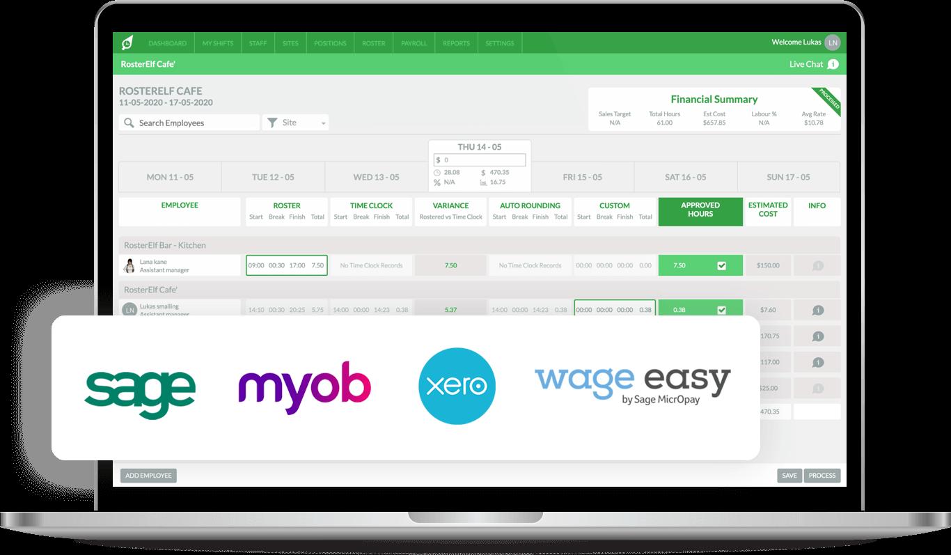 Seamless Payroll Integration